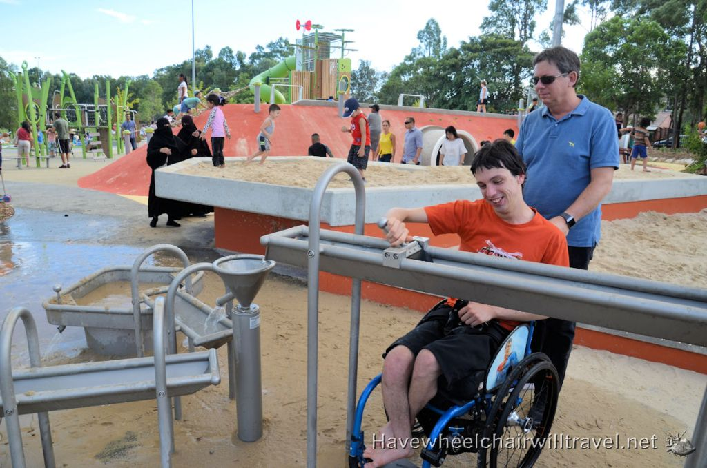 Ollie Webb Reserve Accessible Playground