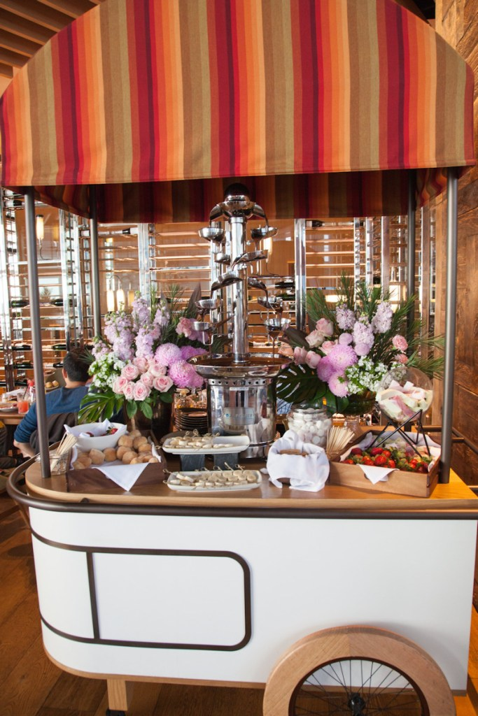 Claris-themed High Tea Cart - Sofitel Sydney Darling Harbour - Photography by Christine Night of Adventure Baby - Have Wheelchair Will Travel