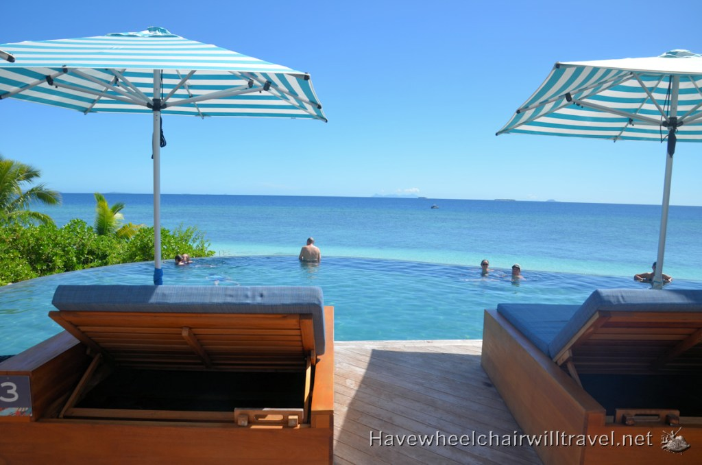 Malamala Beach Club Fiji - pool - Have Wheelchair Will Travel