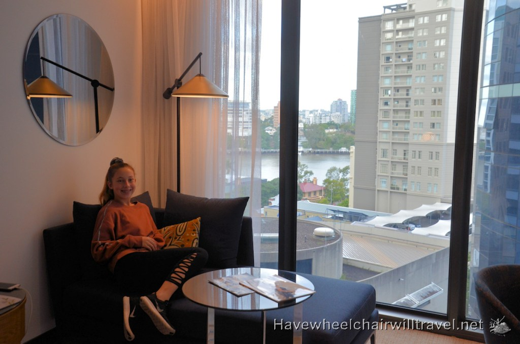 The Westin Brisbane - Relaxing in Luxury Hotel Accommodation - Have Wheelchair Will Travel