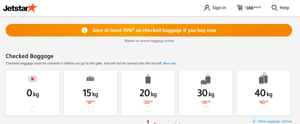 Jetstar budget airline review