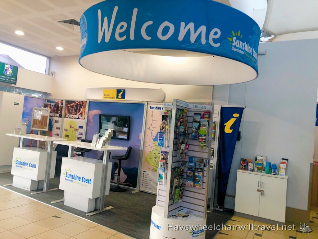 Sunshine Coast Airport - Accessibility Review - Have Wheelchair Will Travel