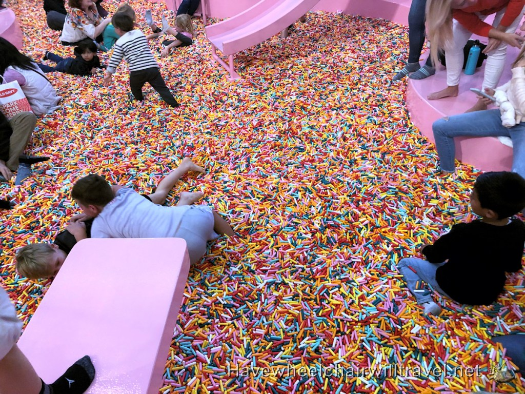 Museum of Ice Cream - accessible San Francisco - Have Wheelchair Will Travel