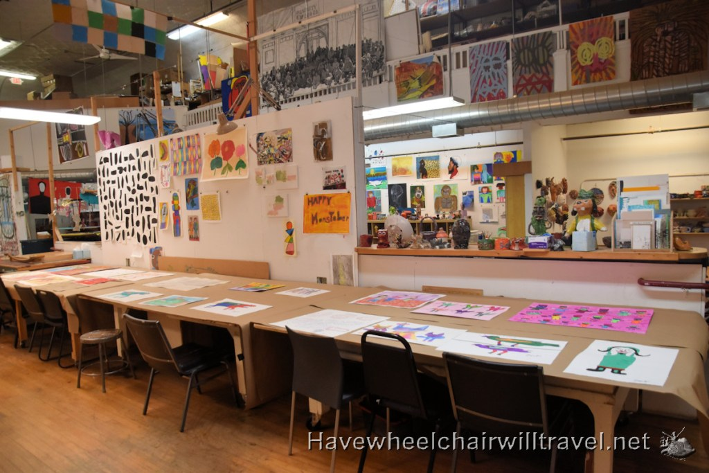 Creativity Explored - accessible art San Francisco - Have Wheelchair Will Travel