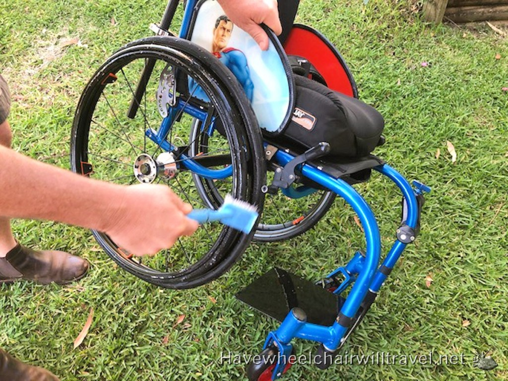 Wheelchair cleaning & Hygiene - Have Wheelchair Will Travel