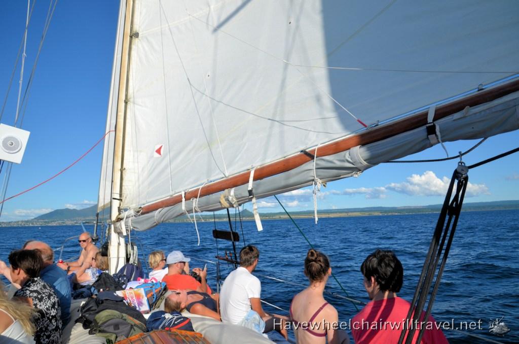 Maori Rock Carving Lake Taupo - Barbary Sailing - Have Wheelchair Will Travel