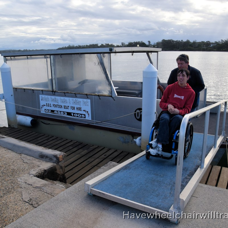 BBQ Boat - Accessible boating fun - Have Wheelchair Will Travel
