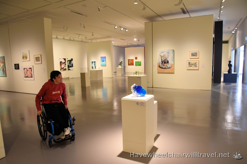 Museum of Art and Culture - MAC - Accessible Lake Macquarie - Have Wheelchair Will Travel