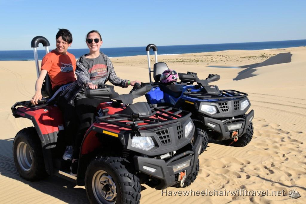 Sand Dune Adventures - Quad Biking - Have Wheelchair Will Travel