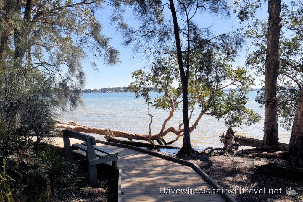 Tilligerry Habitat accessible walk Port Stephens - Have Wheelchair Will Travel