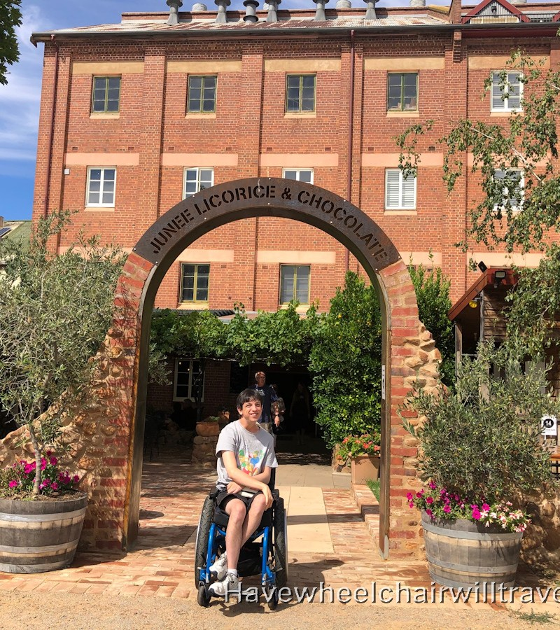 Junee Licorice & Chocolate Factory - wheelchair accessible - Have Wheelchair Will Travel