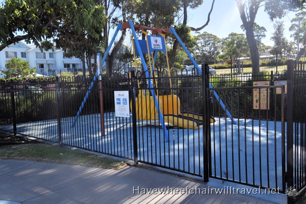Livvi's Place Mollymook - accessible and inclusive playground - Have Wheelchair Will Travel