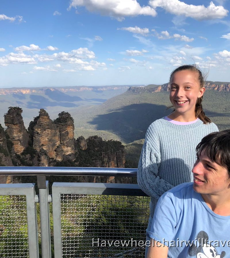 Echo Point - Blue Mountains wheelchair accessible guide - Have Wheelchair Will Travel