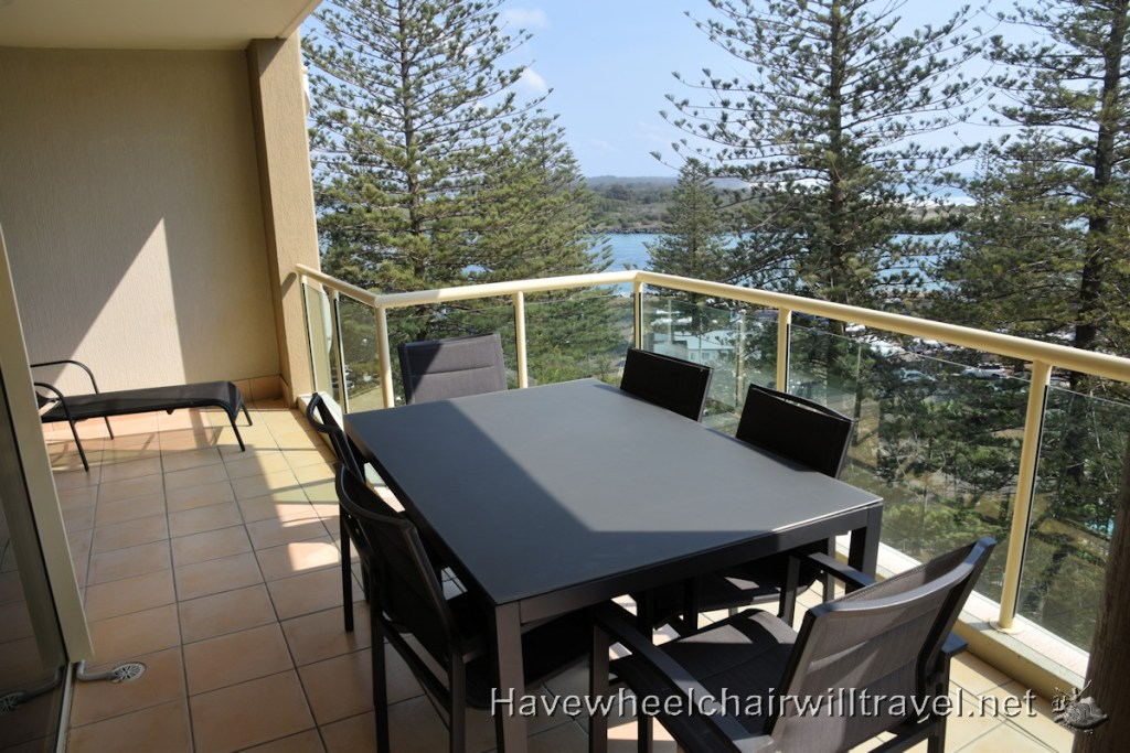 Northpoint Apartments - wheelchair accessible guide Port Macquarie - Have Wheelchair Will Travel