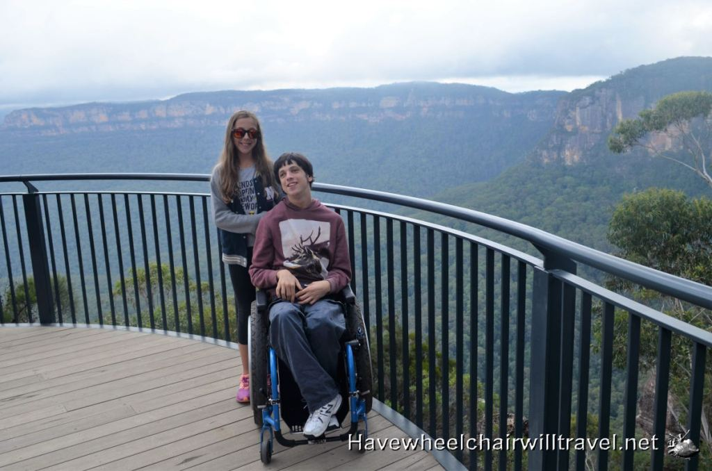 Blue Mountains Three Sisters Walk - wheelchair accessible - Have Wheelchair Will Travel
