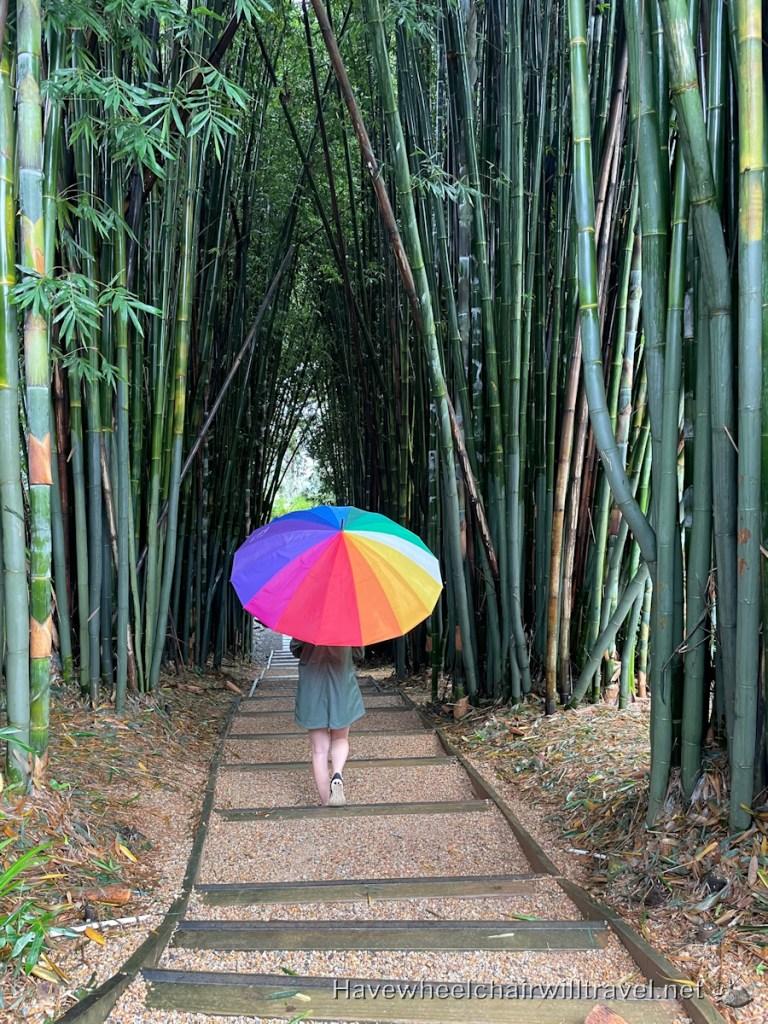 Crystal Castle & Shambala Gardens - Have Wheelchair Will Travel