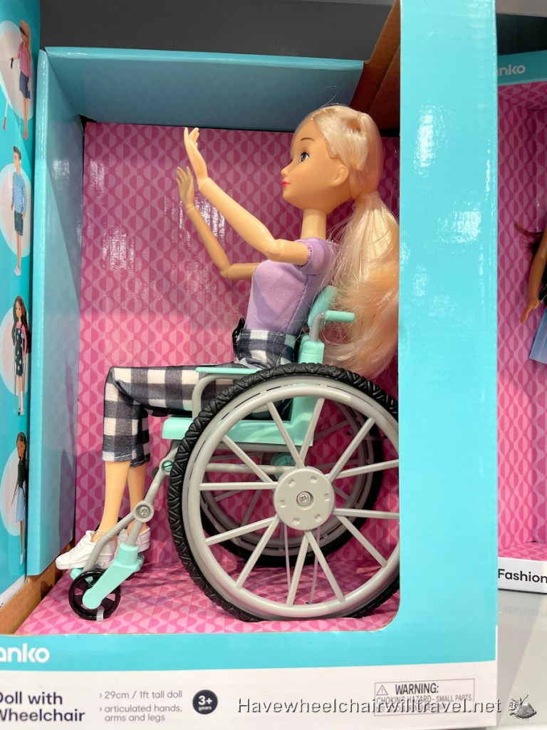 Kmart inclusive doll range - Have Wheelchair Will Travel