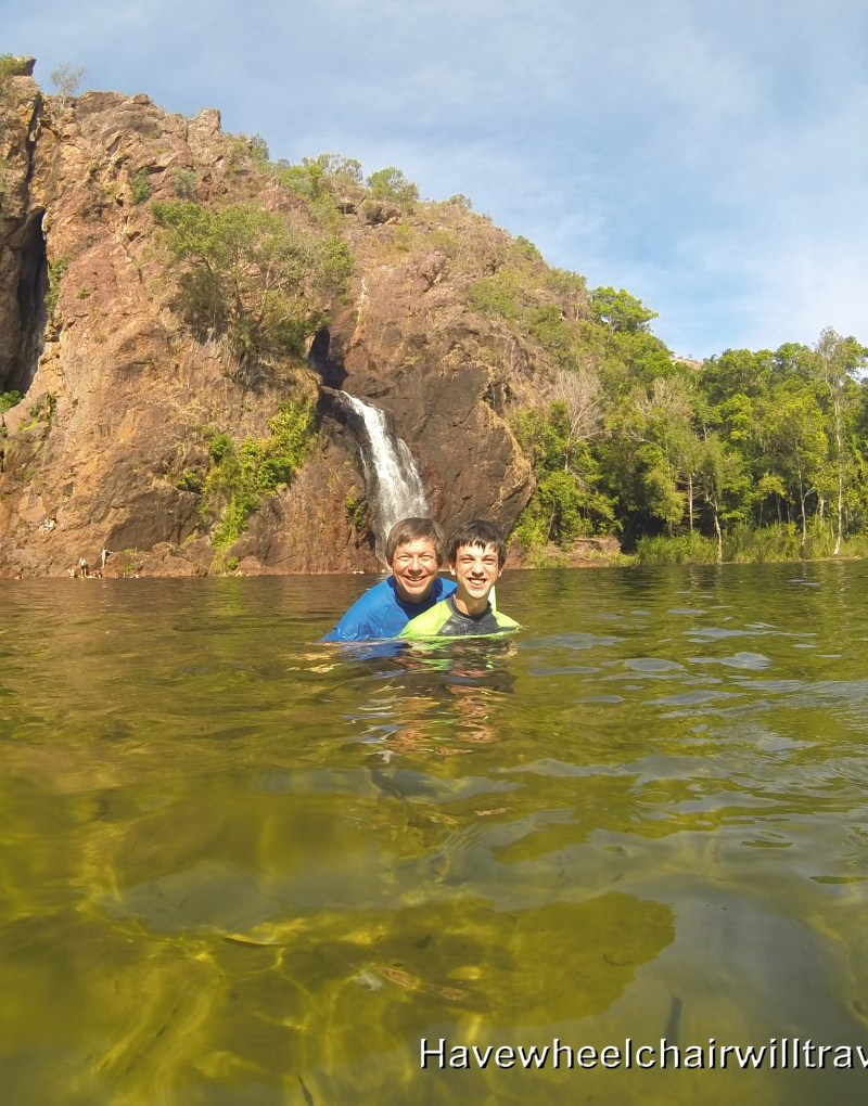 Wangi Falls - wheelchair accessible Northern Territory - Have Wheelchair Will Travel