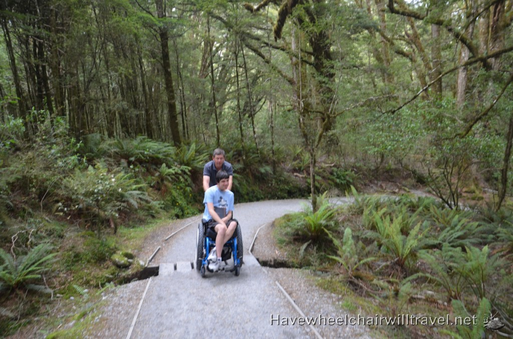 Blue Pools New Zealand - Have Wheelchair Will Travel