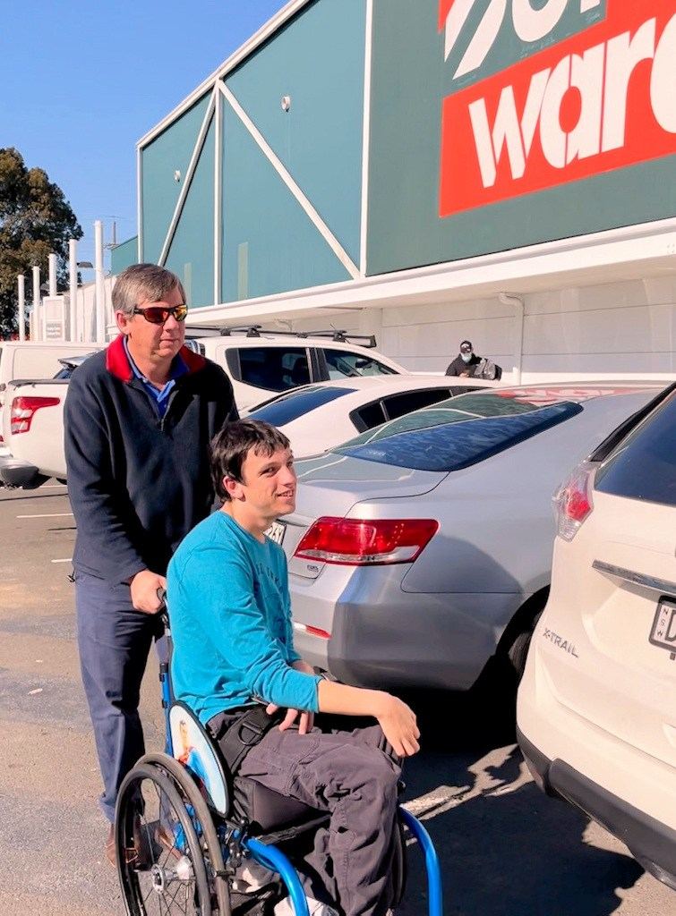 Bunnings Warehouse - Have Wheelchair Will Travel