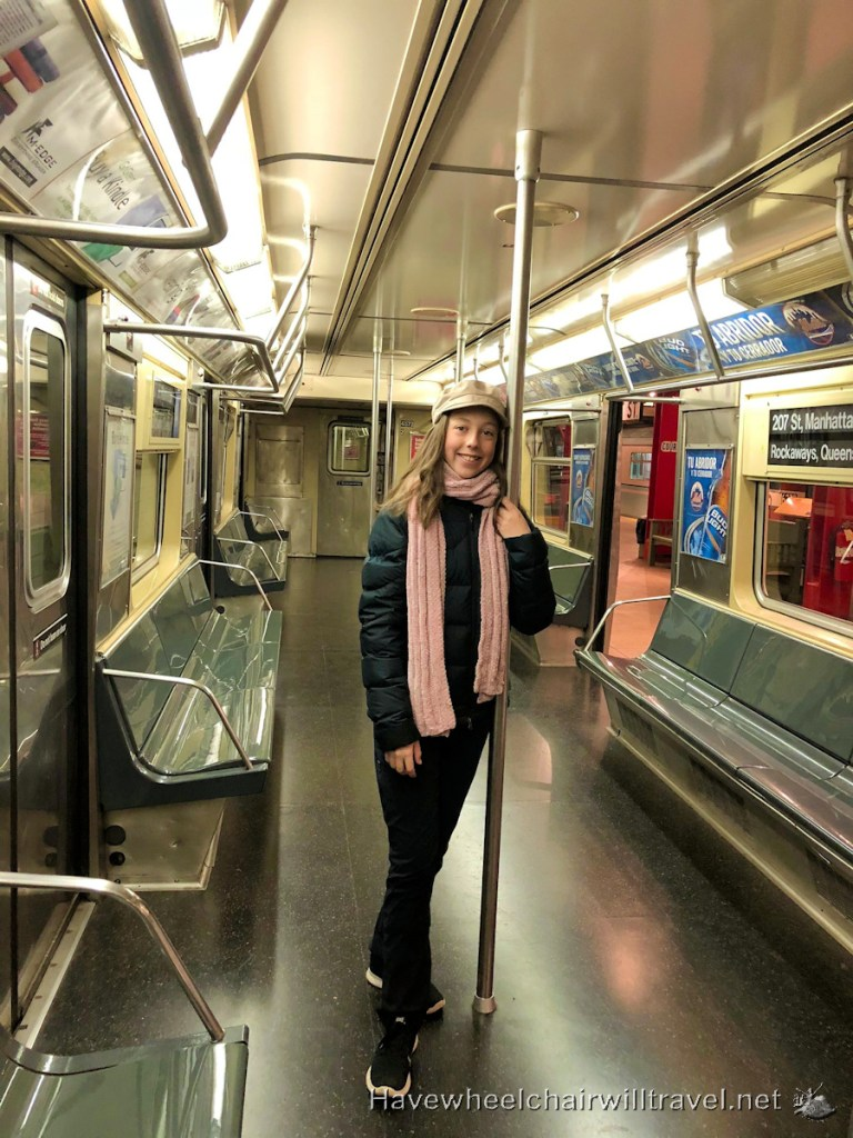 New York Transit Museum - wheelchair accessible New York - Have Wheelchair Will Travel