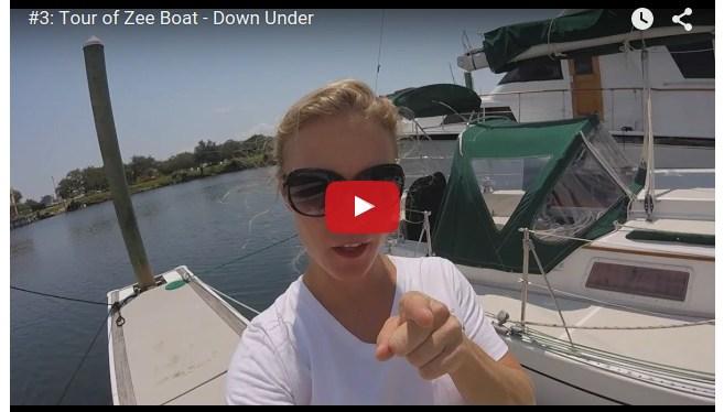 #3: Tour of Zee Boat – Down Below