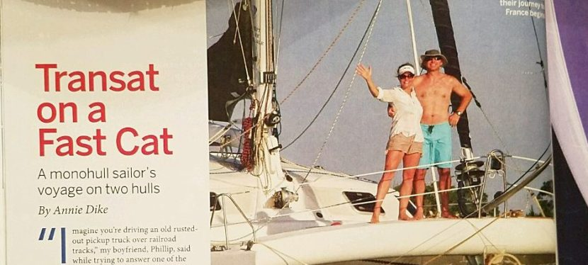 Monohull versus Multihull: We Share in SAIL Magazine!