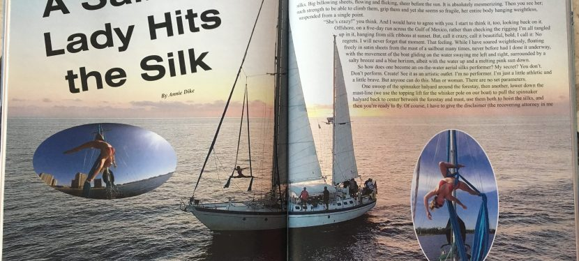 A Silky Article in Cruising Outpost!