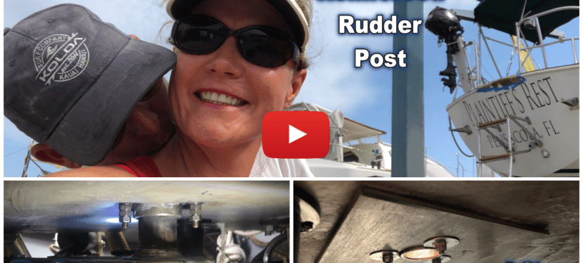 Shipyard Vid 1: Reinforcing the Rudder Post