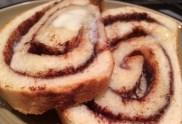 cinnamon fresh baked bread