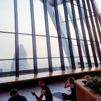 The Best Morning Ever - Yoga at the Sky Garden