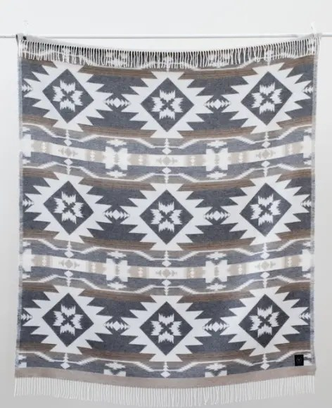 Eco-friendly wool blanket from sackcloth & ashes