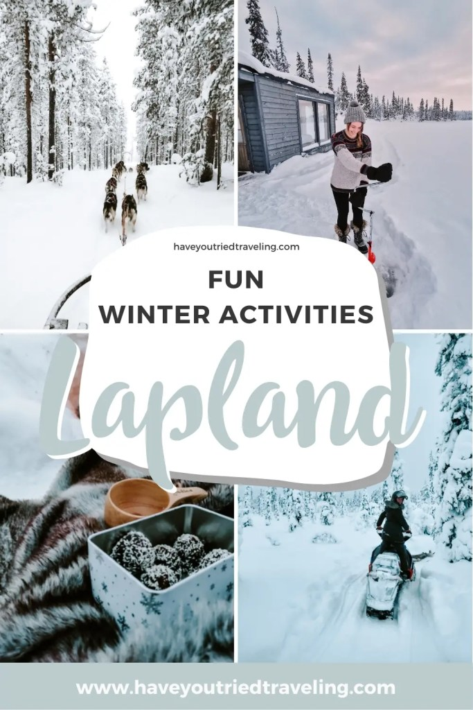 Enjoy the many fun activities during a Sweden winter holiday.