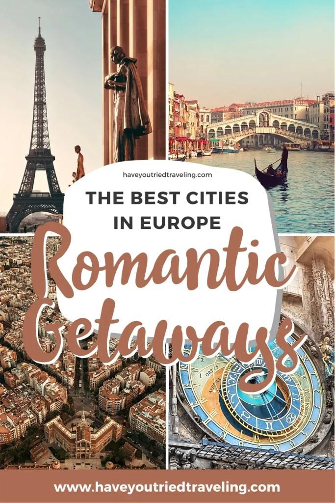The best cities for romantic getaways in Europe