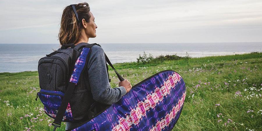 Kassia Meador collab Dakine surf