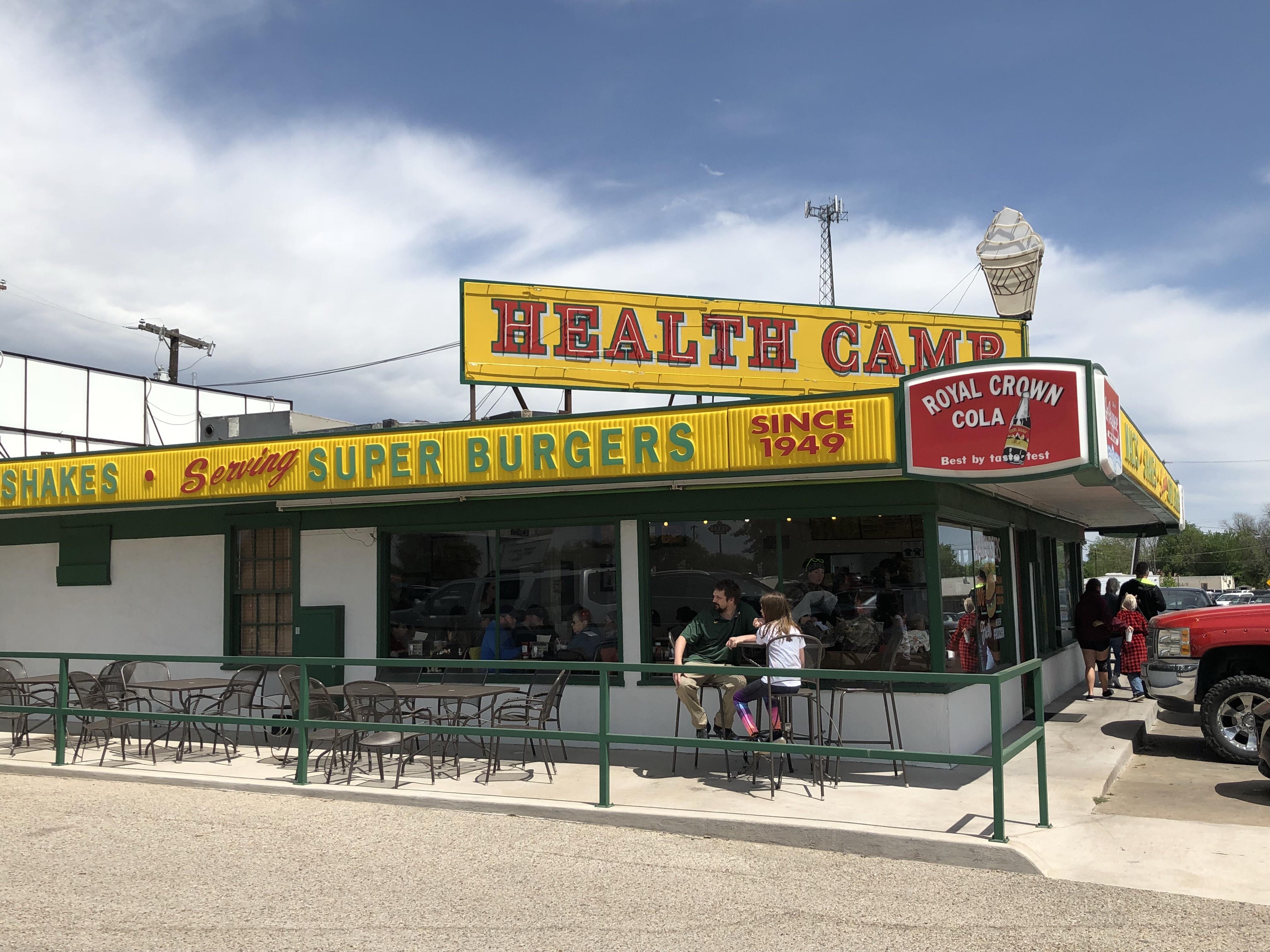 Health Camp on the Waco Traffic Circle Waco Texas