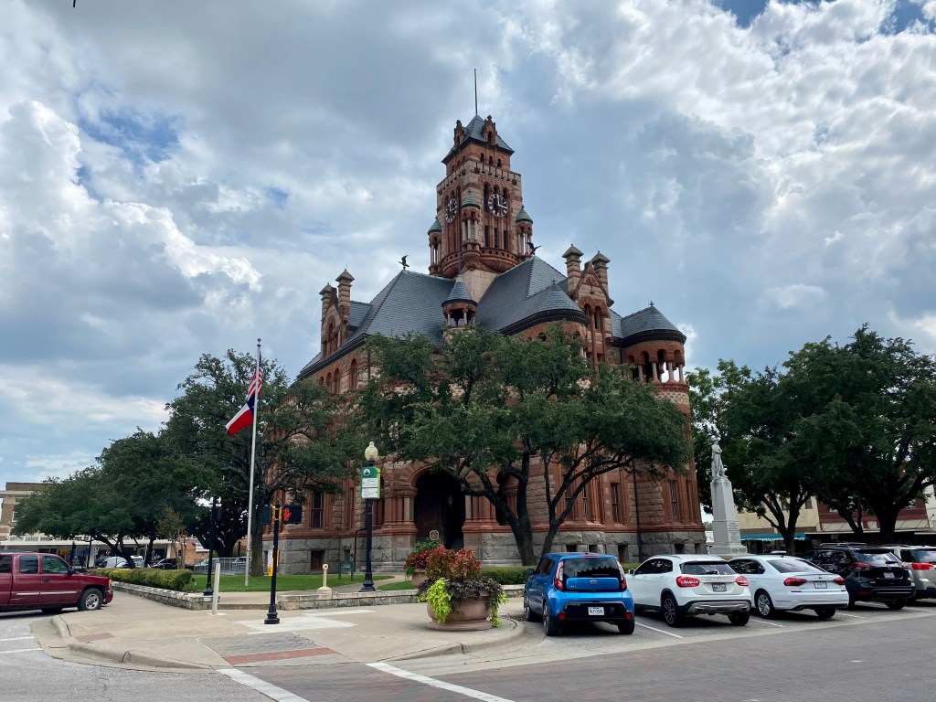 Ellis County Courthouse Square, Waxahachie Texas