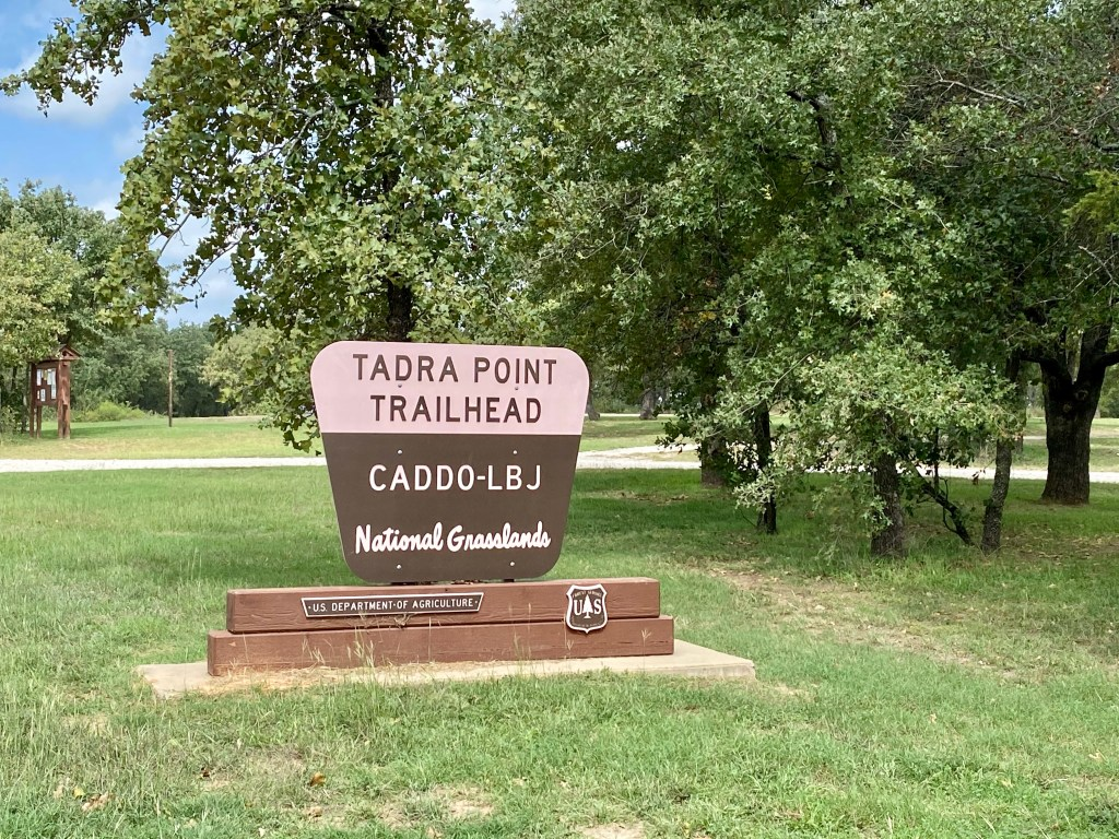 TADRA Point Trailhead at LBJ National Grasslands in Alvord near Decatur