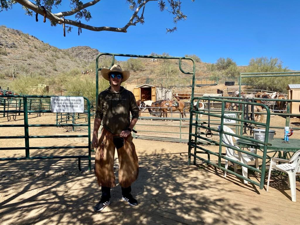 Cave Creek Trail Rides in Phoenix Arizona