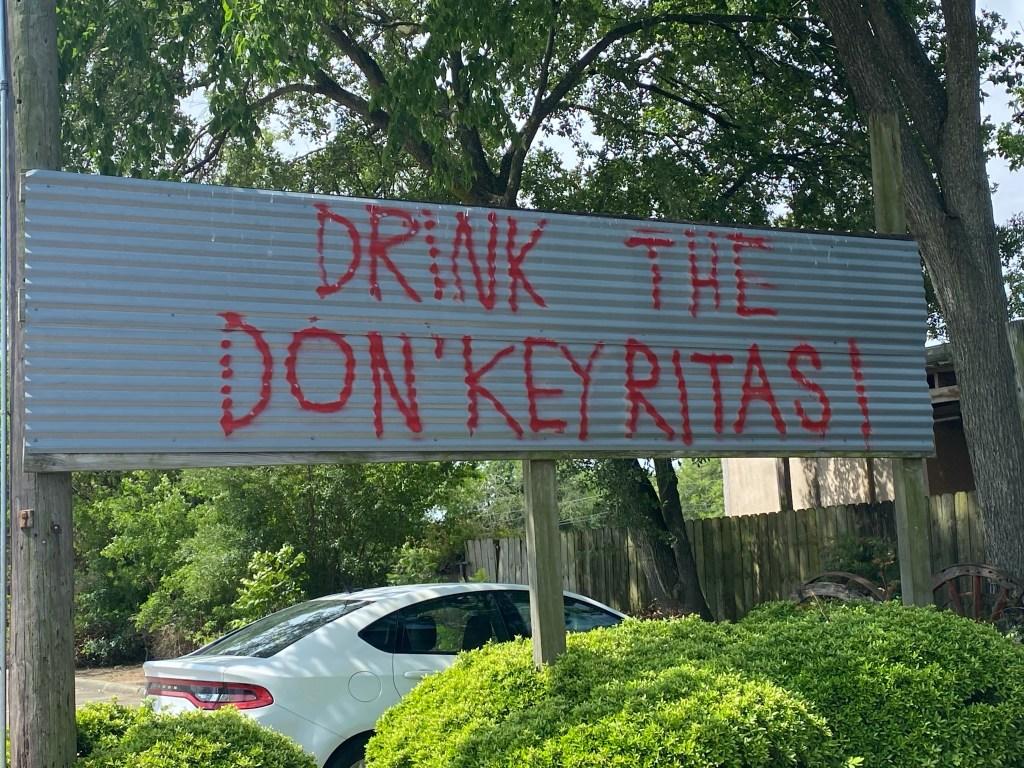 The Don'Key Tex Mex Restaurant in Pasadena, Texas