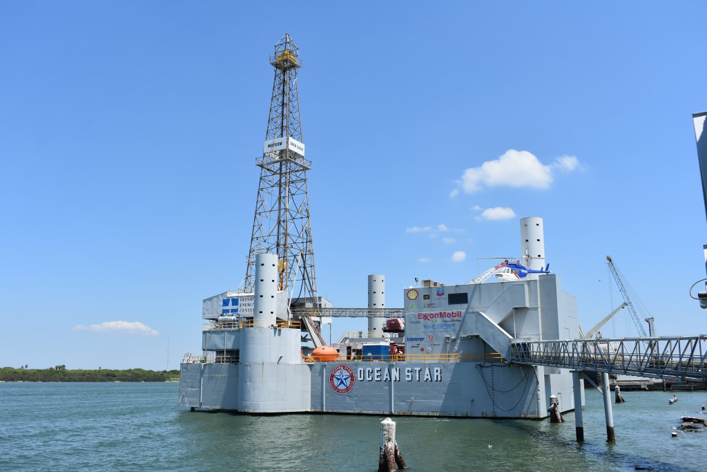Ocean Star Offshore Drilling Rig and Museum in Galveston Texas