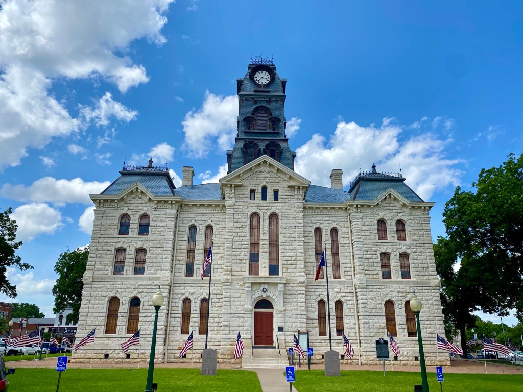 Hood County Courthouse in Granbury Texas