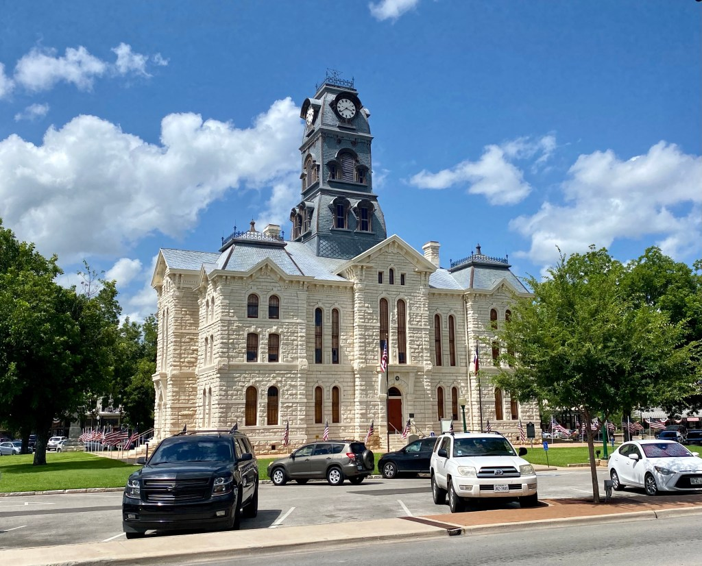 Hood County Courthouse in Granbury, TX.
