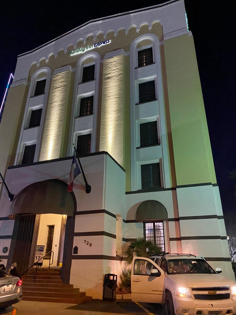 Holiday Inn Express San Antonio haunted the former hanging jail