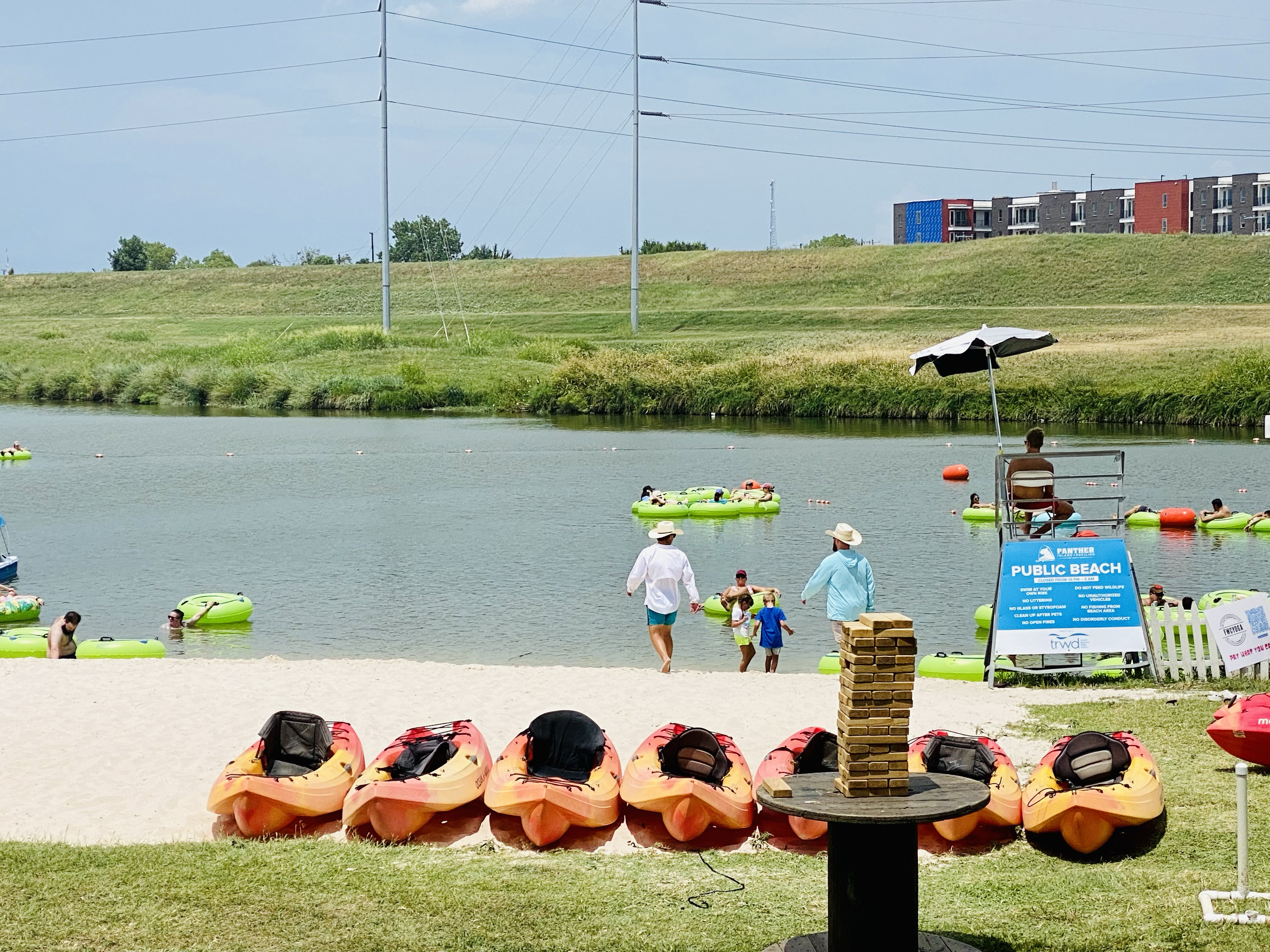 Sunday Funday at Panther Island Pavilion on the Trinity River in Fort Worth