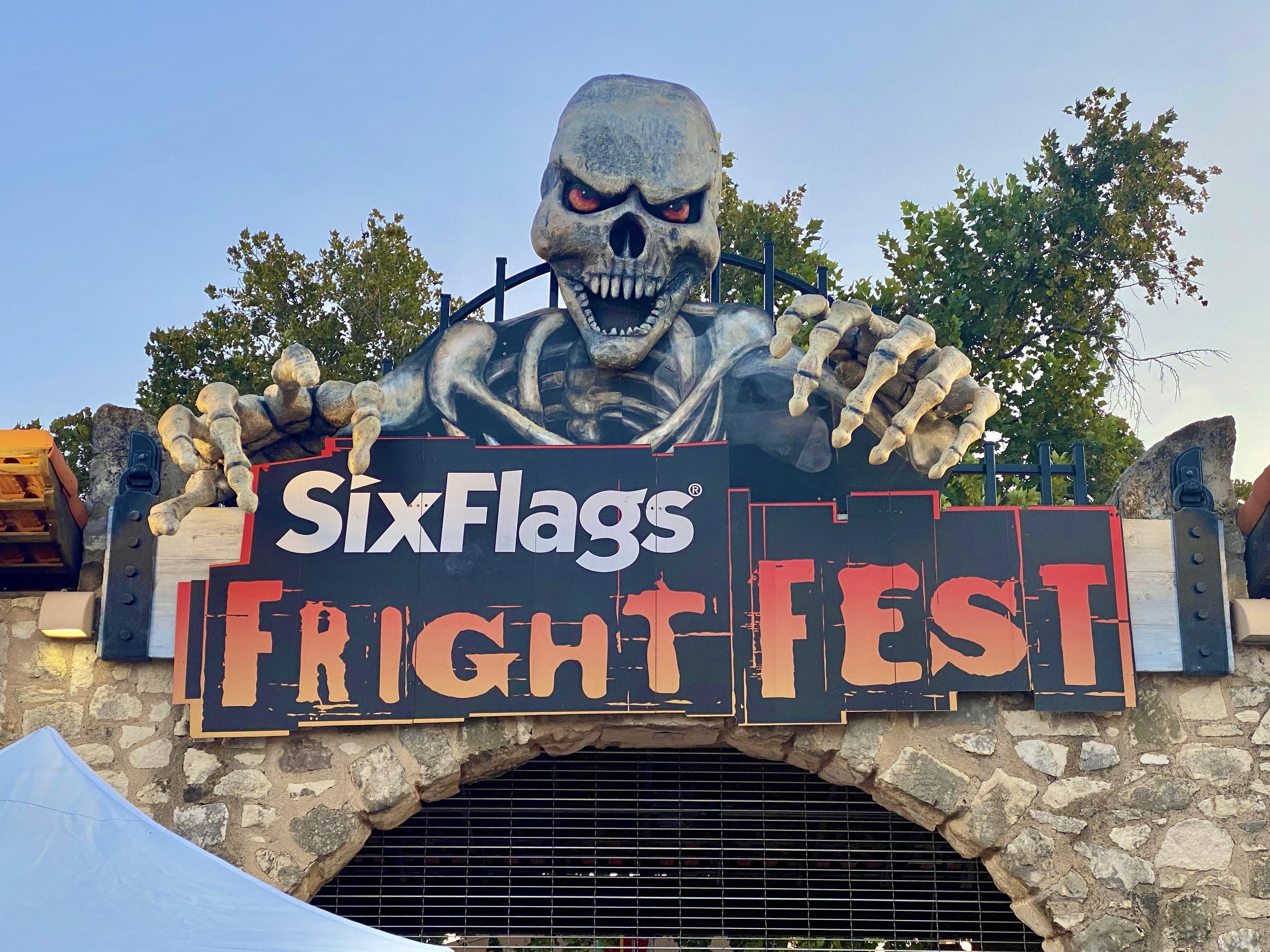 Fright Fest at Six Flags Fiesta Texas in San Antonio