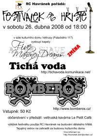 plakátek na hudební festiválek