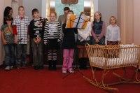 Vítání občánků ve Veltrusích