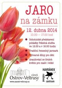 plakát: Jaro na zámku