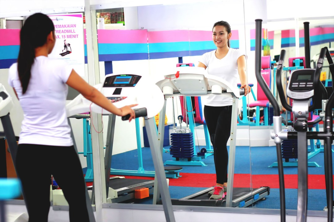 cara menggunakan treadmill yang